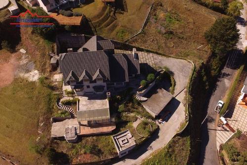 Imagem 1 de 30 de Casa Com 3 Dormitórios À Venda, 460 M² Por R$ 2.200.000,00 - Descansópolis - Campos Do Jordão/sp - Ca4355
