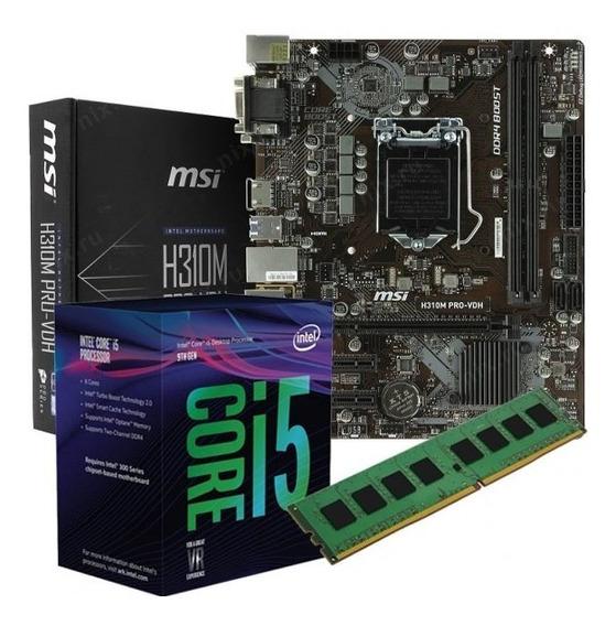 Combo Actualizacion Pc Intel I5 9400f H310 V2 16gb Ddr4 9na