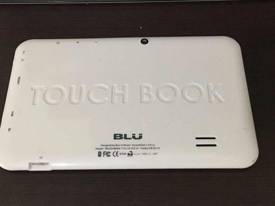 Tampa Traseira Tablet Blu Touch Boom Branco