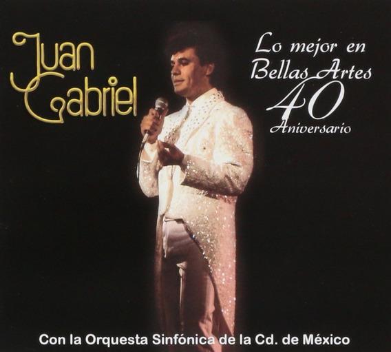Juan Gabriel Lo Mejor En Bellas Artes 40 Aniversario Dvd+ Cd