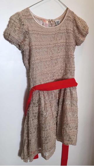 Vestido De Nena Guess Talle 8