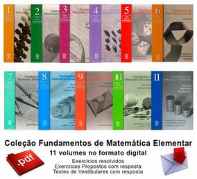 Fundamentos Da Matemática Elementar *completa* Ref:2050.2.2