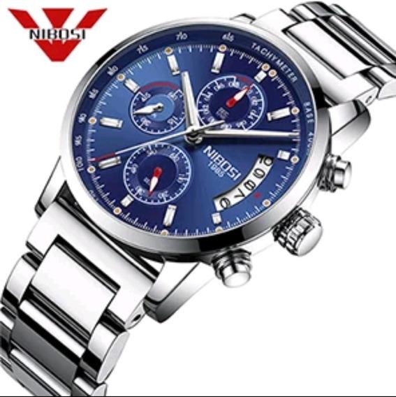 Relógio Masculino Nibosi 2327 Original 30 Metros Promoção