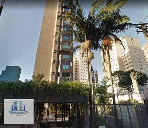 Imagem 1 de 15 de Apartamento Residencial À Venda, Campo Belo, São Paulo. - Ap3117