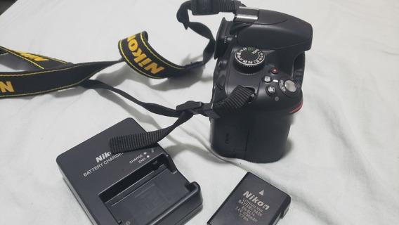 Câmera Nikon D3200 + Lente 18-55 - 7682 Cliques