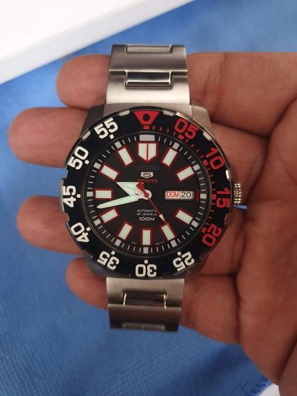 Relógio Seiko Srp487 Sport 5 Monster