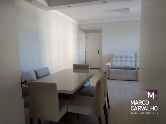 Apartamento Com 3 Dormitórios À Venda, 80 M² Por R$ 400.000 - Boa Vista - Marília/sp - Ap0227