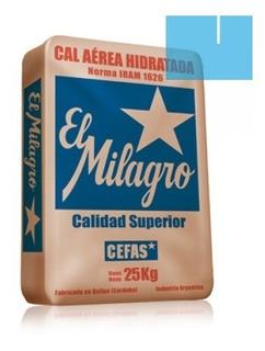 Cal Milagro X25 Kg