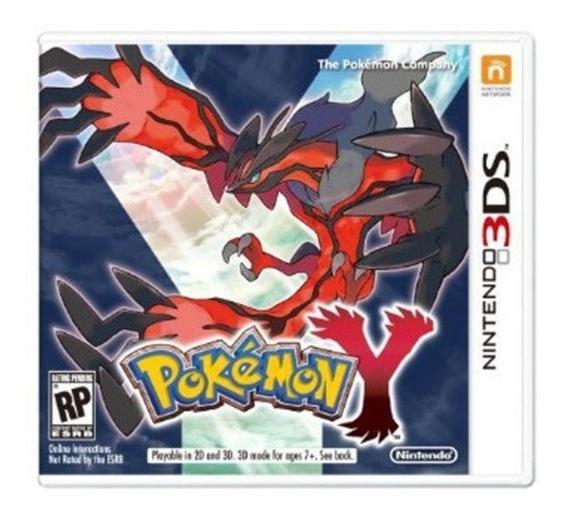 Pokemon Y 3ds Lacrado