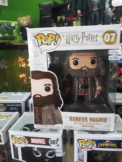 Rubeus Hagrid Harry Potter Oversiza Funko Pop Collectoys