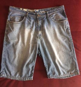 Bermuda Quiksilver Jeans Masculina, Tam. 44 - Frete Grátis