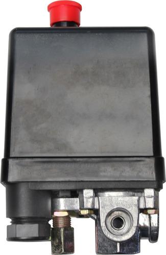 Presostato Automatico De Boton 4 Via 175psi Para Compresor