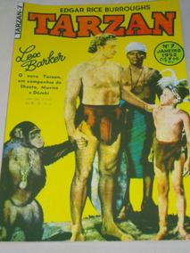 Tarzan Nº 7 De 1952 Ebal Lex Barker Na Capa Veja Descrição