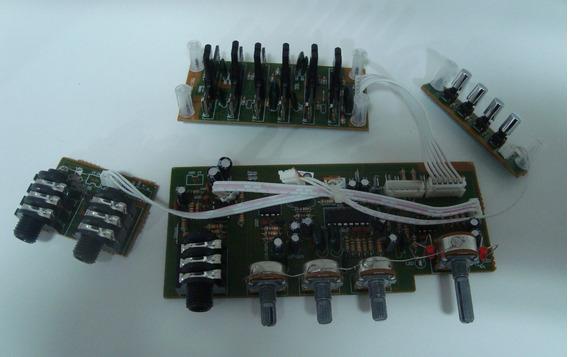 Placa Pre Amplificador E Equalizador P/ Caixa Trc 388b