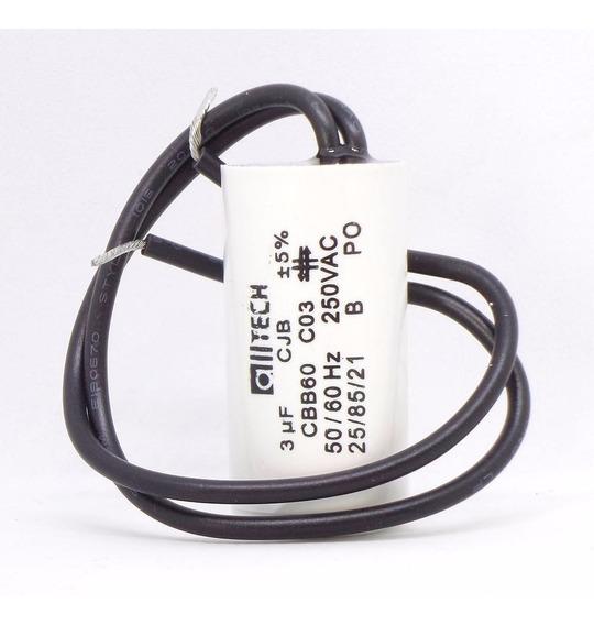 Capacitor 30uf 5% Cjb Cbb60 250vac