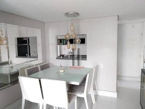 Apartamento Com 3 Dormitórios À Venda, 61 M² Por R$ 410.000 - Vila Independência - São Paulo/sp - Ap2885