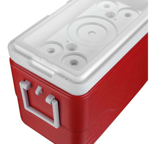 Caixa Térmica 26.5 Lts Vermelho - Coleman