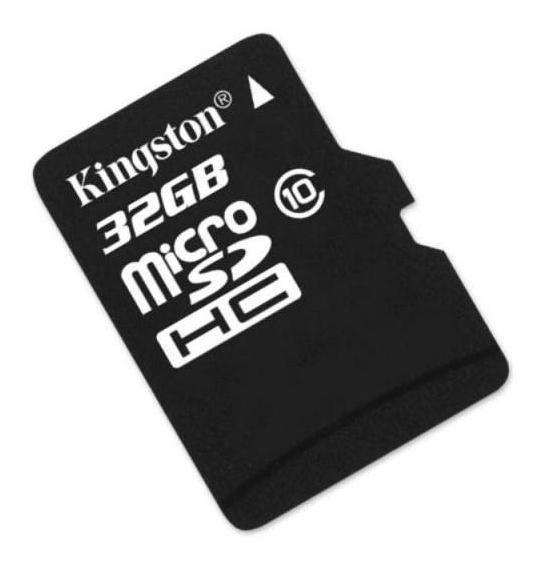 Cartão De Memória 32gb Micro Sd Classe 10 Kingston