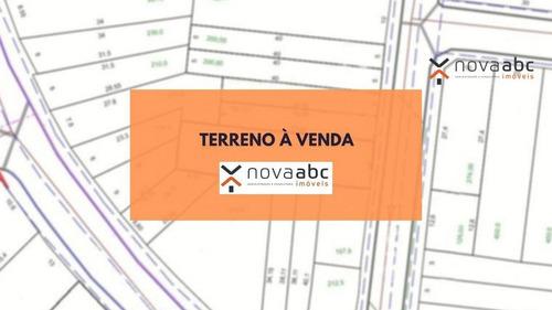 Terreno À Venda, 400 M² Por R$ 1.500.000 - Vila Assunção - Santo André/sp - Te0191