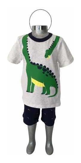Carters Set Para Niño Toddler Talla 3 Años Dinosaurio Short