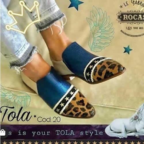 Zapatos Mocasin Tola Rocas