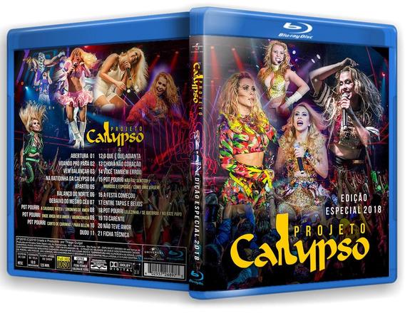 Blu-ray Projeto Calypso Especial 2018 + Extras Clipes Joelma