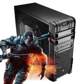 Pc Gamer Completo Warrior Core I5 8gb Hdmi Bf4 / Gta5 / Nms