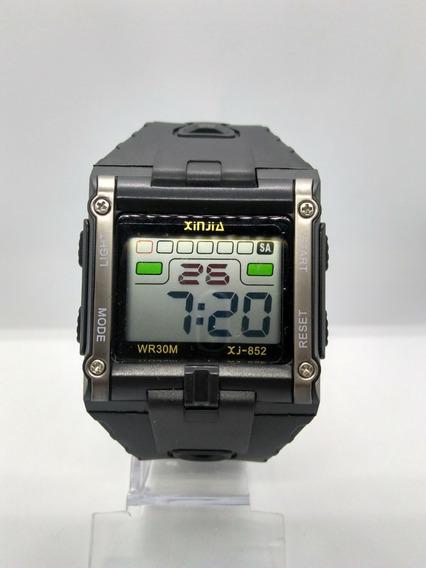 Relógio Masculino Digital Aprova Dágua Pulseira Borracha Top