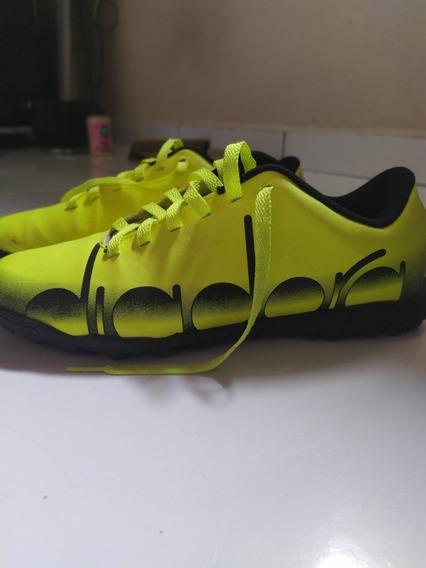 Quero Vender Logo Chuteira Futsal/campo Diadora