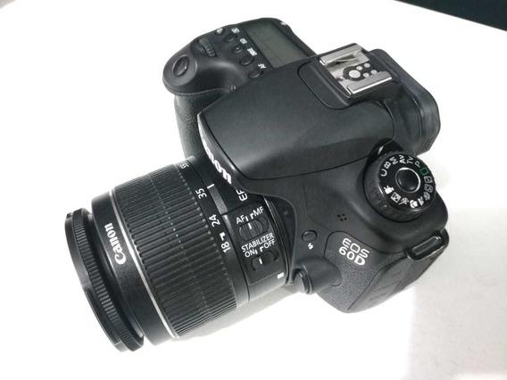 Vendo Kit Câmera Canon 60d