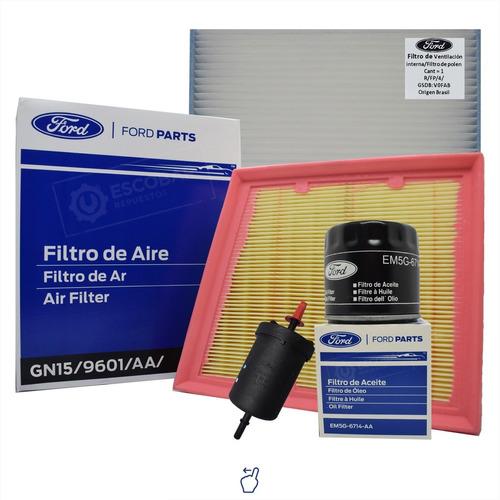 Kit 4 Filtros Completo Ford Ecosport 1.5 Dragon Original