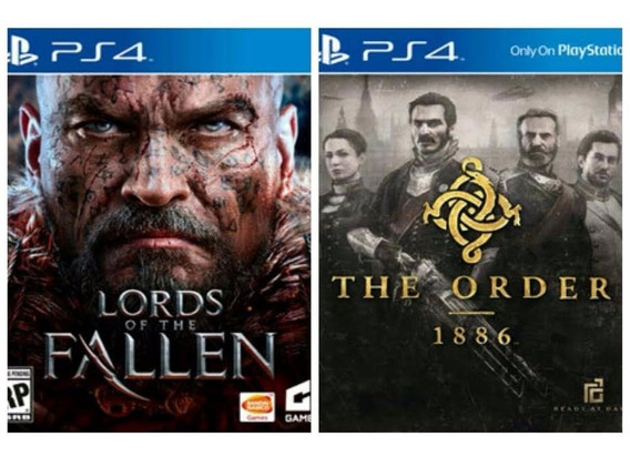 The Order + Lords Of The Fallen Ps4 1ª Digital Psn