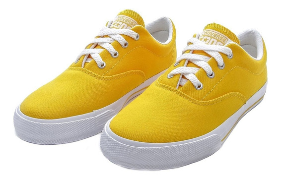 Tênis Converse Cons Lifestyle Skidgrip Cvo Ox Amarelo Queima