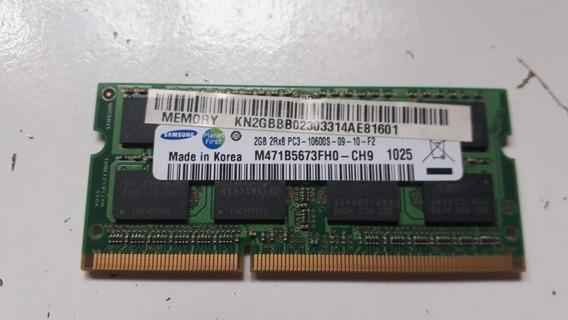 Memoria Samsung 2rx8 Pc3-10600s Kn2gbb02 M471b5673 B52