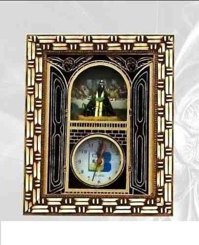 Quadro Relógio Nossa Senhora Aparecida E Santa Ceia