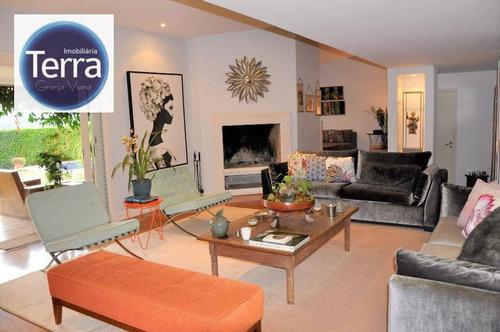 Imagem 1 de 30 de Casa À Venda, 460 M² Por R$ 2.500.000,00 - Vila De São Fernando - Cotia/sp - Ca1633