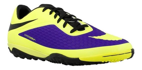 Tenis Nike Hombres Amarillos Hypervenom Phelon Tf 599846570