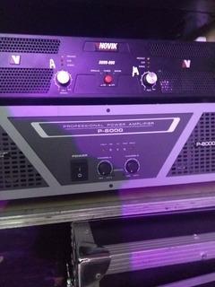 Apogee P-6000 Potencia Amplificador 3000w Rms 2ohms
