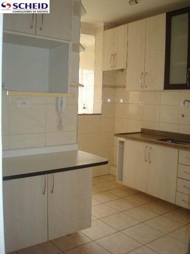 Imagem 1 de 15 de *apartamento 72 M²: 3 Dorms, 1 Suíte, 2 Banheiros, 1 Vaga!* - Mc551