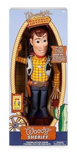 Vaquero Woody Interactivo - Toy Story Pixar Disney Store Usa
