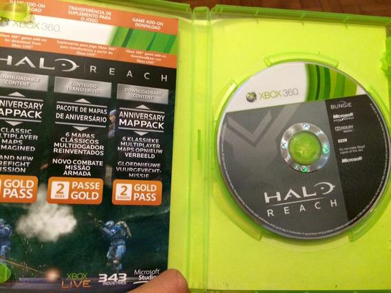 Jogo Xbox 360 Europeu Original Halo Reach