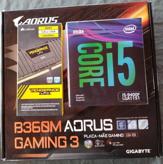 I5 9400f + Rx570 4gb + 8gb Corsair + B360m Aorus Gaming 3