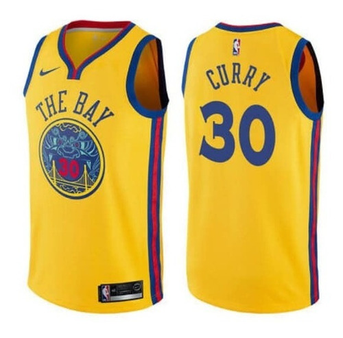 the latest 24254 367c0 Fan Jersey Stephen Curry #30 Golden State The Bay City