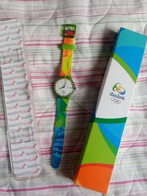 Kit Relógio Swatch Rio2016
