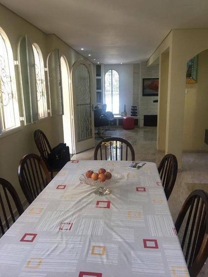 Sobrado Com 4 Dormitórios À Venda, Jardim Maia - Guarulhos/sp - So0224