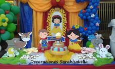 Decoraciones Con Globos Infantiles; Mesas De Fantasía Y Más