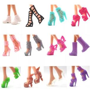 12 Pares De Zapatos Barbie