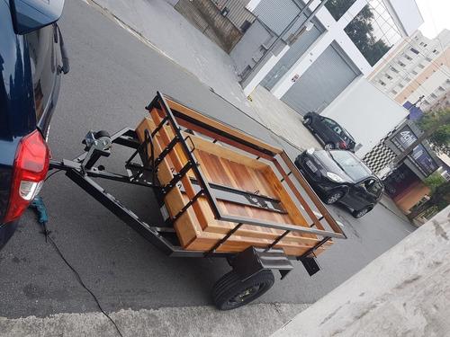 Carreta Carretinha Carga Moto 2,00x1,30 2021