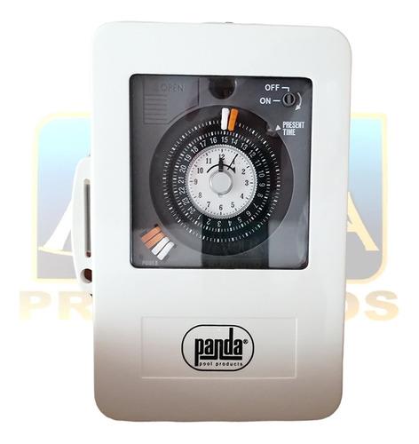 Imagen 1 de 3 de Interruptor Timer Voltaje Dual 110-230v Para Alberca