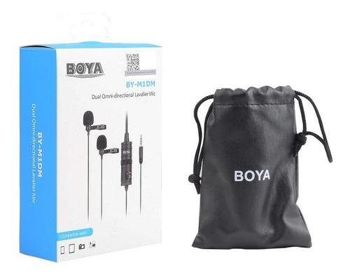 Microfone De Lapela Duplo Boya By-m1dm